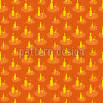 Cocktails On Salvers Seamless Vector Pattern Design
