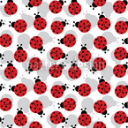 Beetlemania Seamless Vector Pattern Design