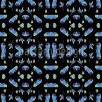 Polygonale Illusion Muster Design