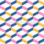 Trendy Cubes Repeating Pattern