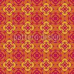 Teppich Mit Rosen Vektor Ornament