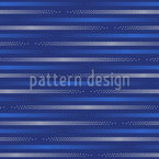 Horizontal Dotted Stripes Seamless Vector Pattern Design