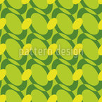 Oval Chains Seamless Vector Pattern Design