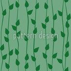 Planta Colgante Estampado Vectorial Sin Costura