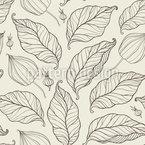 Herbst-Blatt Nahtloses Vektormuster