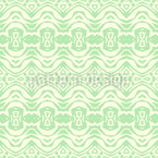 Horizontal Abstract Chains Seamless Vector Pattern Design