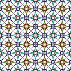 Art Deco Arabisch Designmuster
