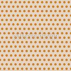 Sonnige Polka Dots Rapportiertes Design