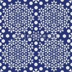 Geometric Flower Files Vector Ornament