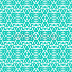Symmetrical Shapes Seamless Vector Pattern Design