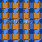 Treffen Geometrischer Formen Muster Design