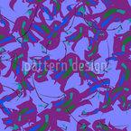 Poças Tóxicas Design de padrão vetorial sem costura