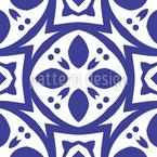 Azulejos estilo asiático Estampado Vectorial Sin Costura