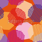 Floating Octagons Seamless Vector Pattern Design