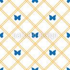 ゴールデンネット シームレスなベクトルパターン設計
