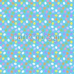 キャンディイースターの卵 シームレスなベクトルパターン設計