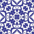 Trefoil E Quatrefoil Design de padrão vetorial sem costura