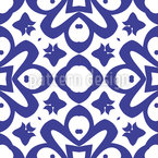Night Blooming Seamless Vector Pattern