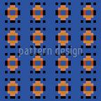 Praça Paraíso Design de padrão vetorial sem costura