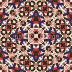 Kaleidoskop Nahtloses Vektormuster