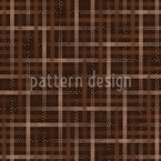 Dotted Plaid Seamless Vector Pattern