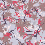 Abstract City Camo Seamless Vector Pattern Design