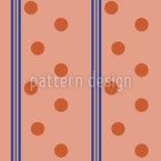Dots Meet Stripes Motif Vectoriel Sans Couture