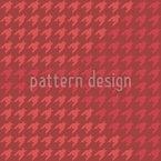 Modern Houndstooth Seamless Vector Pattern Design