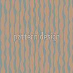 Rayures ondulées Motif Vectoriel Sans Couture