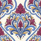 ペルシャの花束 シームレスなベクトルパターン設計