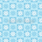 Flower Chess Repeating Pattern