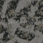 Mystic Camouflage Seamless Vector Pattern Design