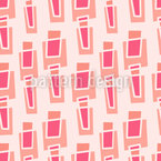 Warm Geometry Seamless Vector Pattern Design
