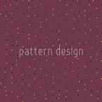 Raspberry Polka Dots Seamless Vector Pattern Design