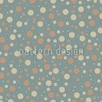 北欧の水玉模様 シームレスなベクトルパターン設計