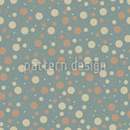 Nordic Polka Dots Seamless Vector Pattern Design