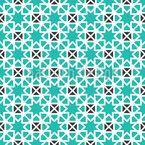 Geometrisches Sternmosaik Nahtloses Vektor Muster