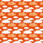 Wolken Und Regenschauer Vektor Design