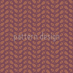 Staggered Oak Leaf Repeating Pattern
