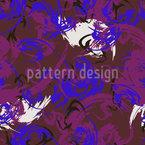 Abstrakte Tintenkleckse Nahtloses Vektormuster