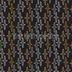 クロスを夜に シームレスなベクトルパターン設計