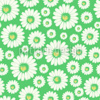 Daisy Fields Seamless Vector Pattern Design