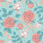 Parco delle Rose disegni vettoriali senza cuciture