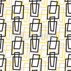 Retro Rectangles Seamless Vector Pattern Design
