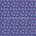 Origami Leaves Seamless Vector Pattern Design
