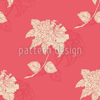 Chinese Retro Flower Seamless Vector Pattern Design