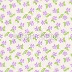Flores Selvagens Design de padrão vetorial sem costura
