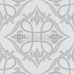 Renaissance Grau Nahtloses Vektormuster
