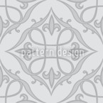 Renaissance Grey Repeat Pattern