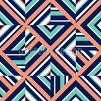 Verwirrendes Karo Muster Design